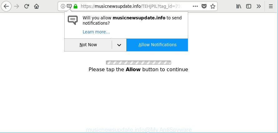 remove Musicnewsupdate.info