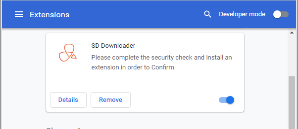 How to remove SD Downloader