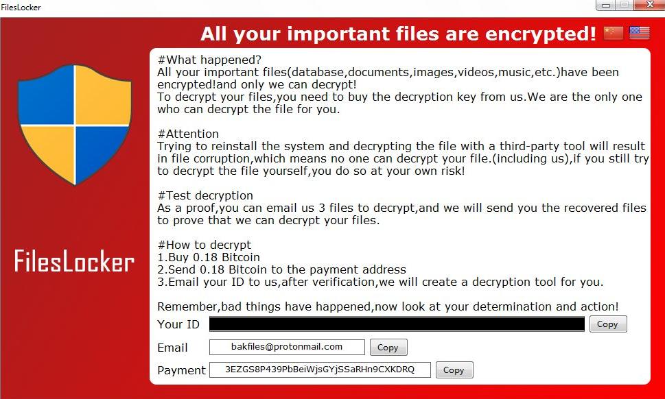 remove FilesL0cker ransomware