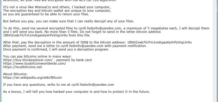 How to remove HacknutCrypt Ransomware and decrypt .qweuirtksd files
