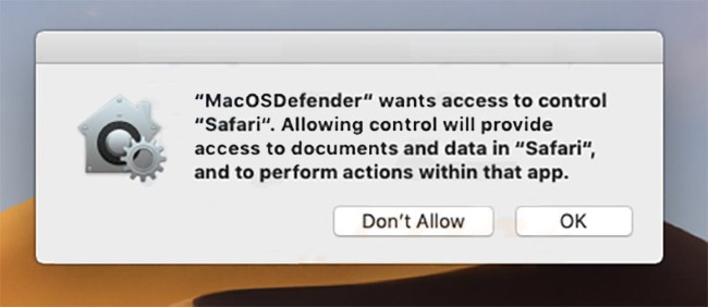How to remove MacOSDefender