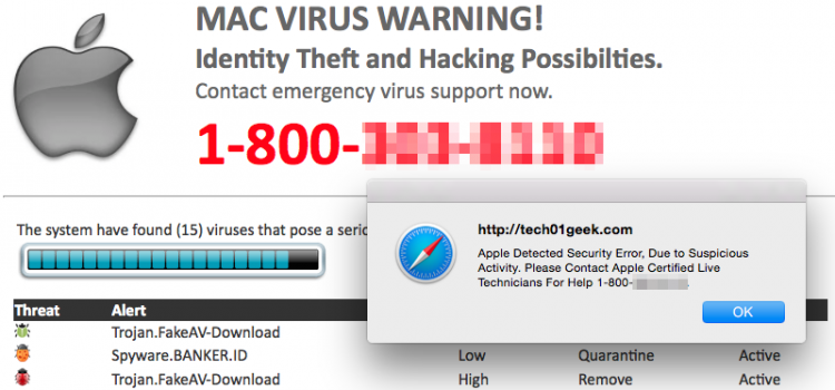 How to remove This Mac Is Not Secure pop-up scam