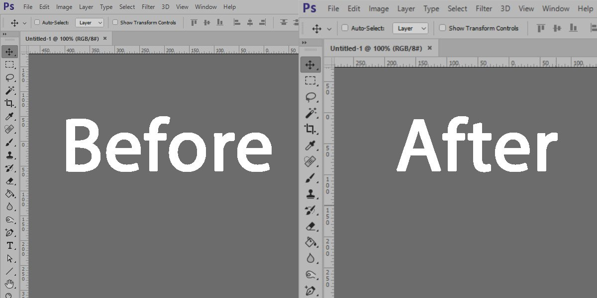 How to fix Adobe Photoshop font scaling for High-DPI Displays