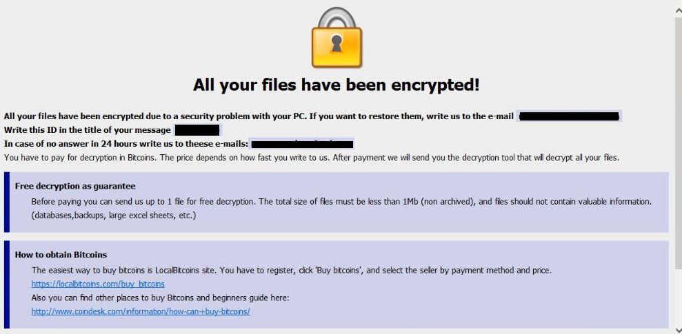 remove AUF Ransomware
