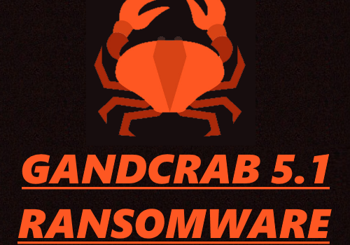 How to remove GANDCRAB V5.1 and restore files