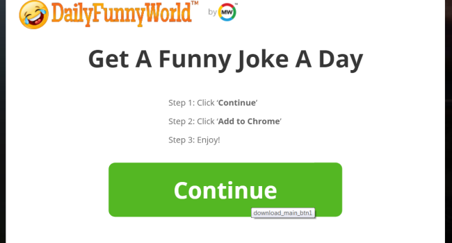 How to remove DailyFunnyWorld add-on
