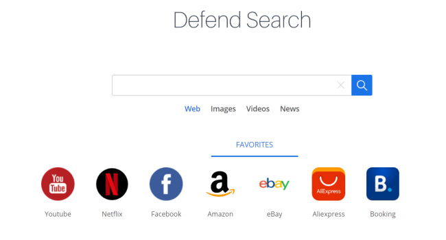 How to remove Defend Search