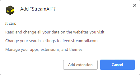 How to remove Stream-All