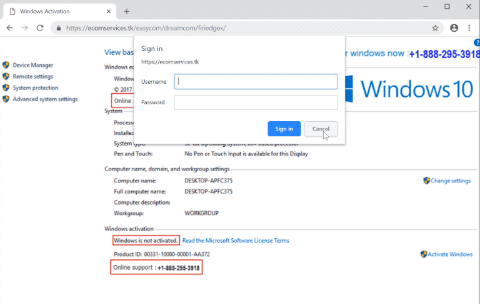 "How to remove ""Windows is not activated"" pop-up scam"