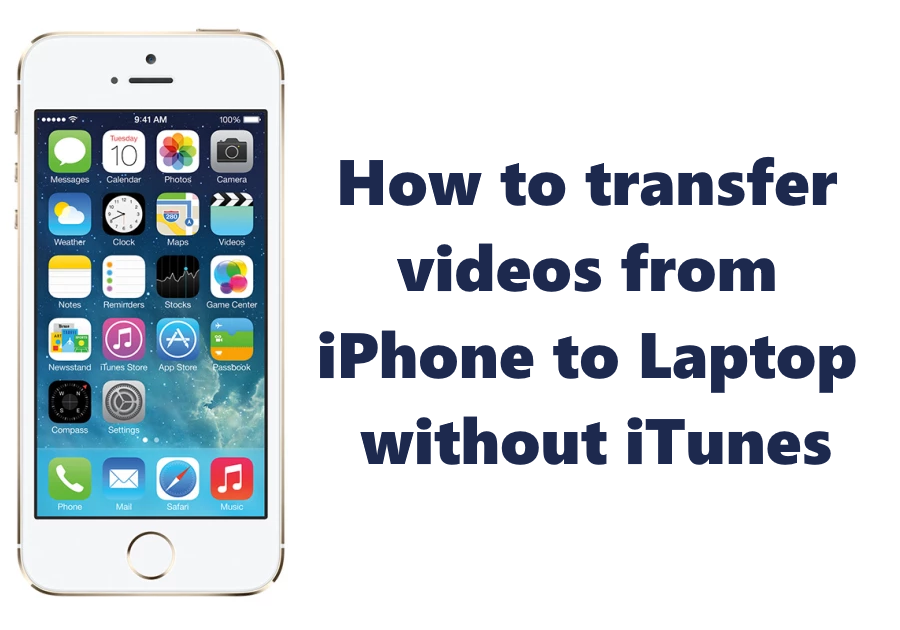 How to transfer videos from iPhone to Laptop without iTunes
