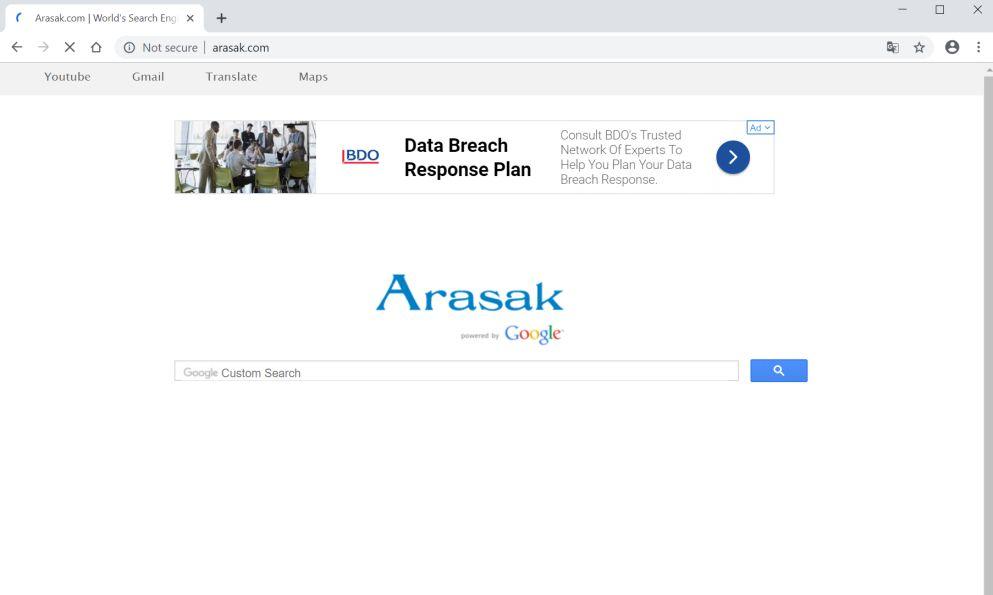 How to remove Arasak.com