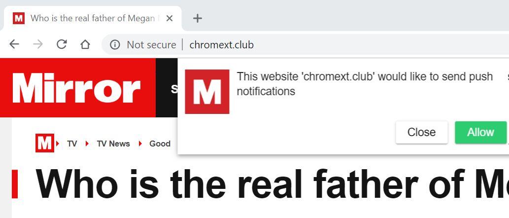remove Chromext.club