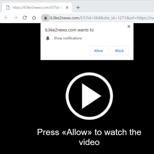 How to remove Like2news.com