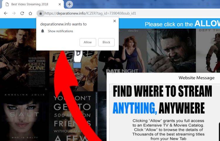 delete https://Deparationew.info, p8.Deparationew.info, p7.Deparationew.info, w986.Deparationew.info, h64r.Deparationew.info, sphy.Deparationew.info, oz4x.Deparationew.info, n9m9.Deparationew.info virus notifications