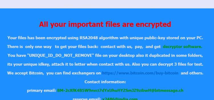 How to remove Hermes 2.0 Ransomware and recover files