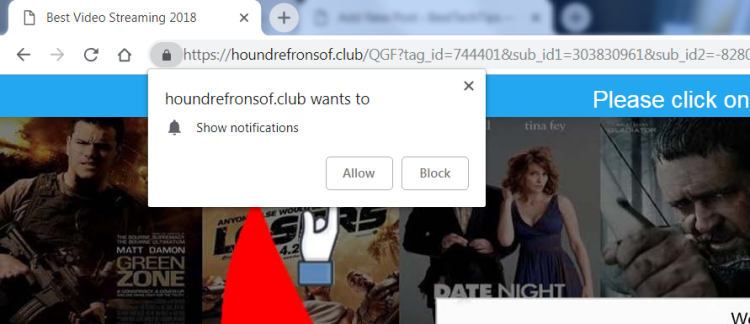 How to remove Houndrefronsof.club