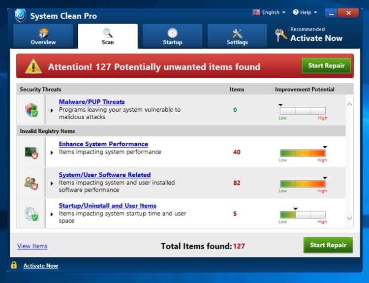 delete System Clean Pro virus