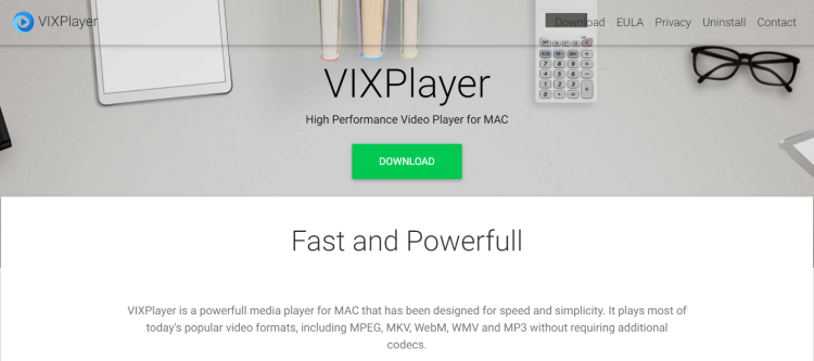 How to remove VixPlayer from Mac