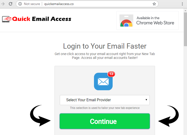 How to remove Quick Email Access