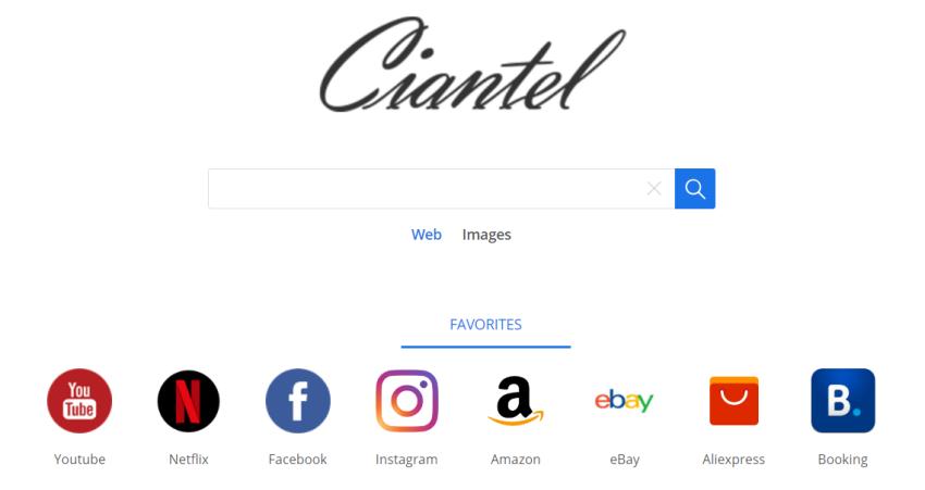 delete Ciantel.com virus