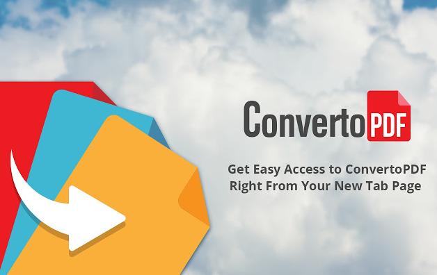 remove ConvertoPDF
