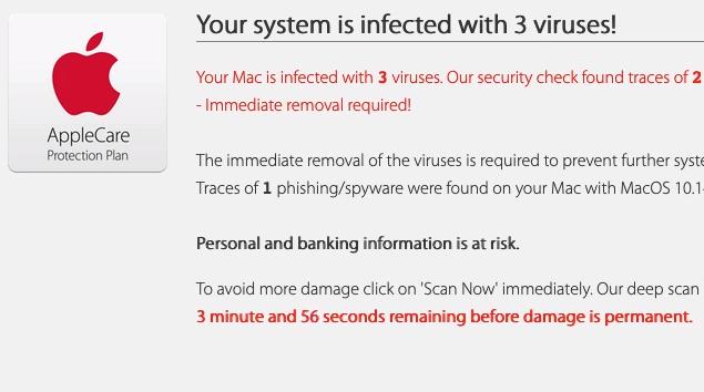 How to remove Apple.com-optimize.live Scam (Mac)