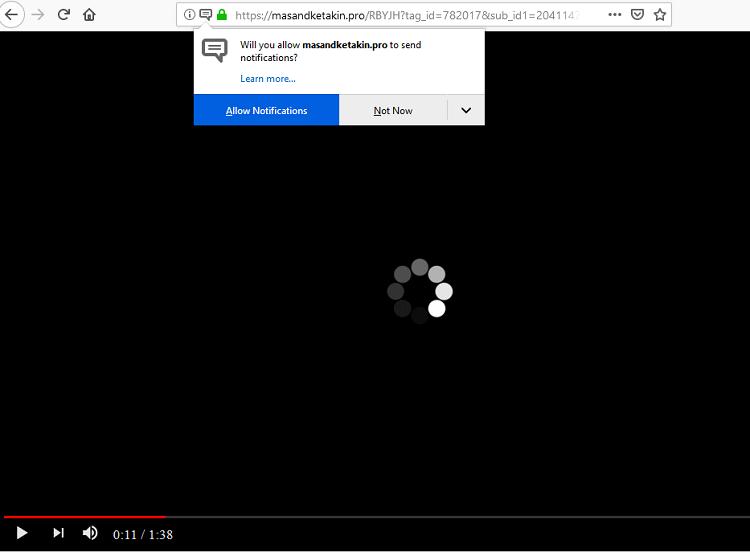 remove Masandketakin.pro virus