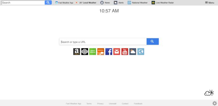 delete Search.hfastweatherapp.com virus