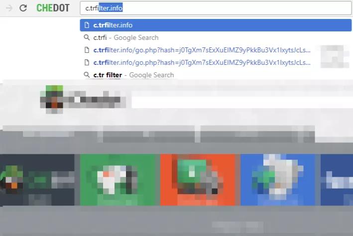 remove C.trfilter.info