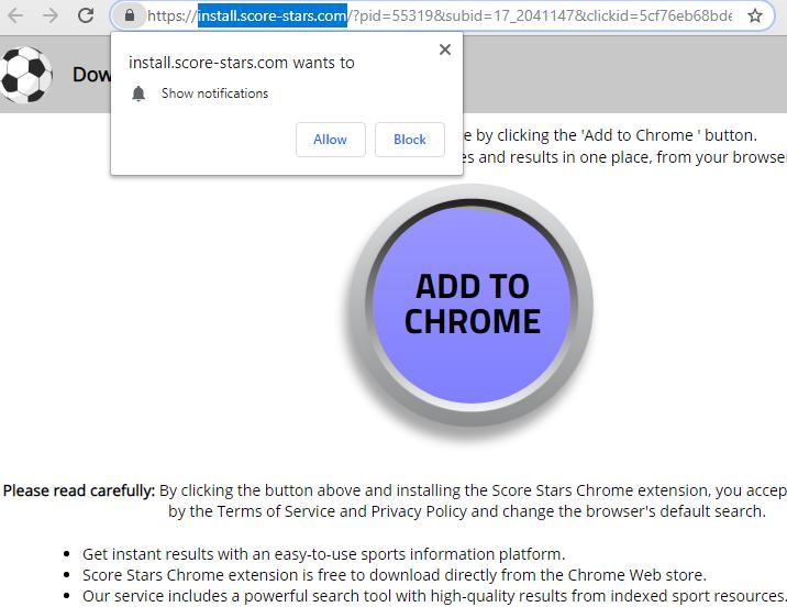 remove Install.score-stars.com