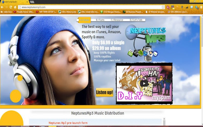 delete Neptunesmp3 virus