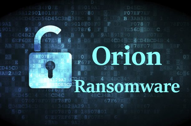 How to remove Orion Ransomware and decrypt .orion files
