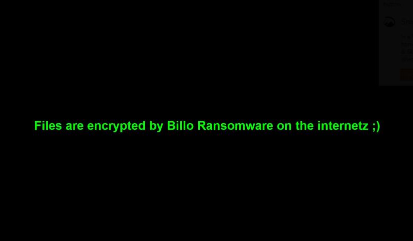 Billo ransomware