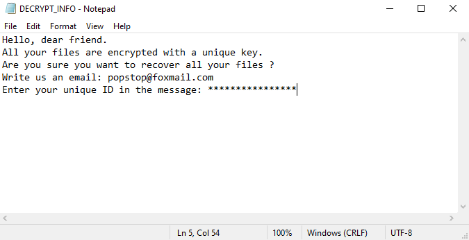 Cago ransomware