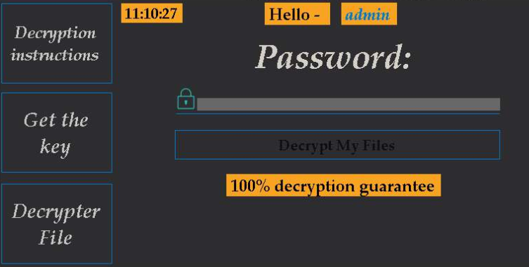 Crown ransomware
