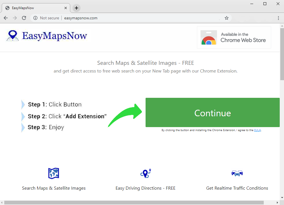 remove Easy Maps Now hijacker