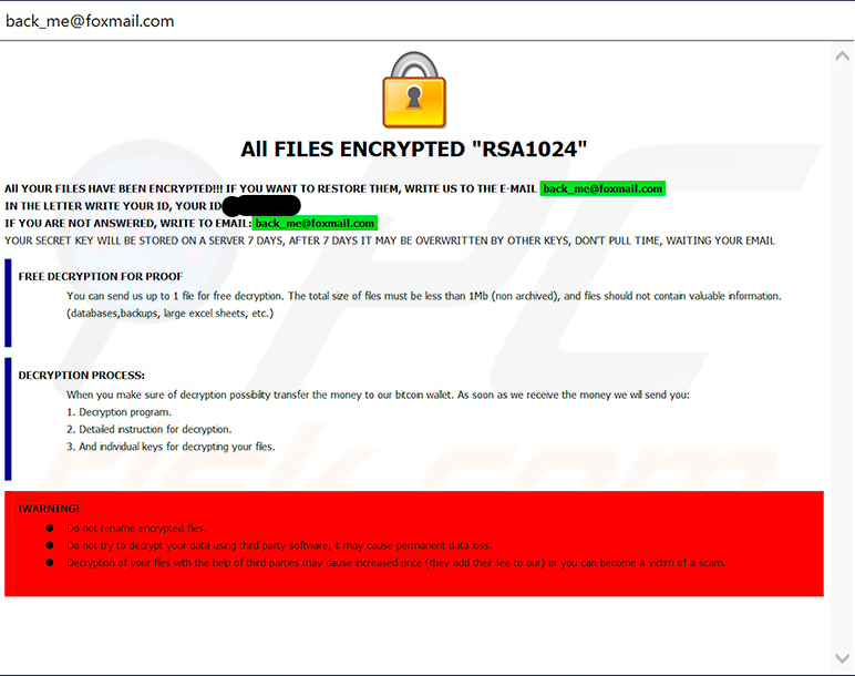 Php ransomware