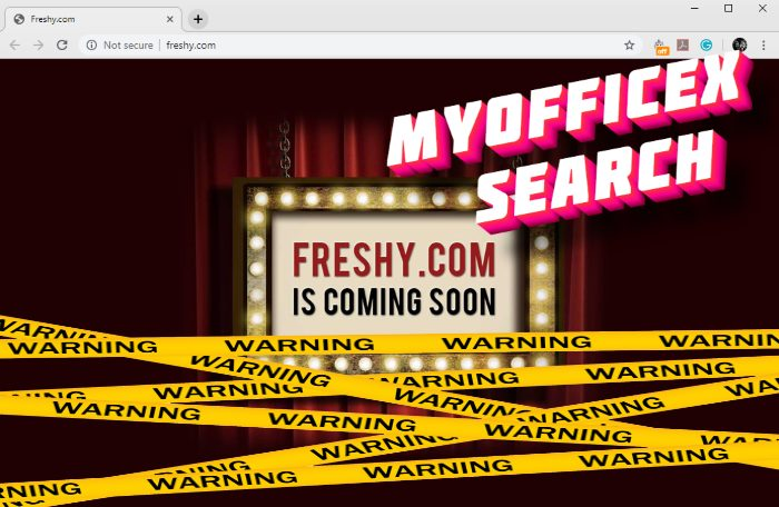 How to remove MyOfficeX Search hijacker