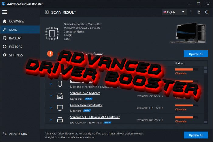 How to remove Advanced Driver Booster PUP
