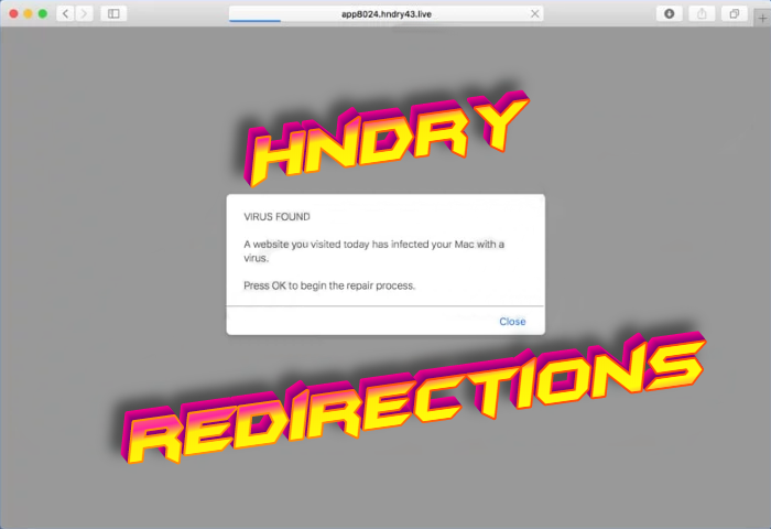 How to remove Hndry redirections from Mac OS