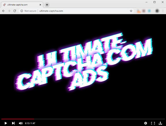 How to remove Ultimate-captcha.com ads