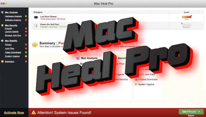 How to remove Mac Heal Pro from Mac