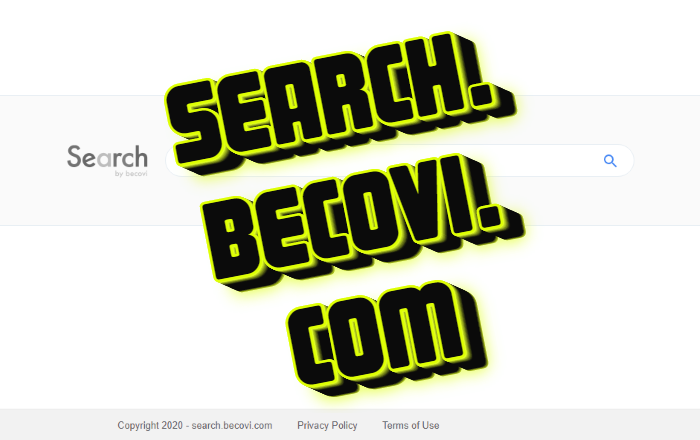 How to remove search.becovi.com from Mac