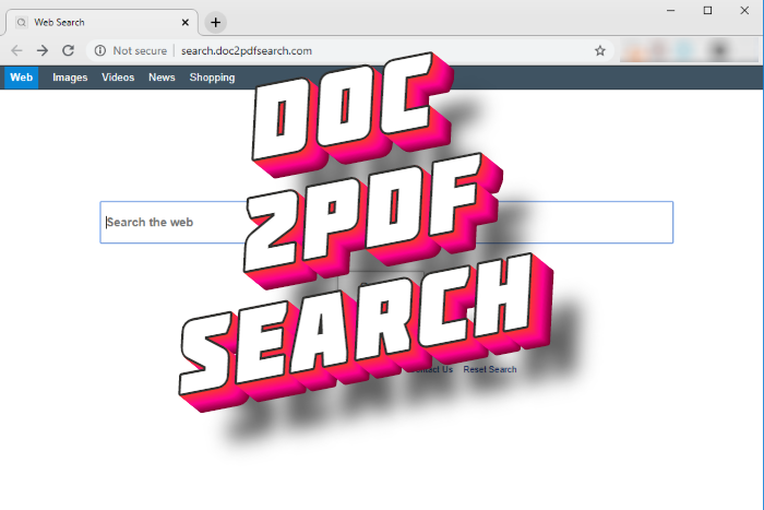 How to remove Doc2pdfsearch hijacker