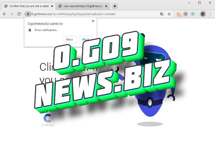 How to remove 0.go9news.biz pop-ups