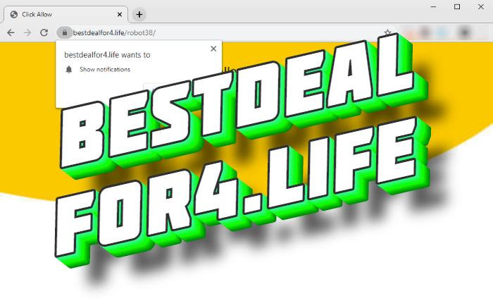How to remove Bestdealfor4.life pop-ups