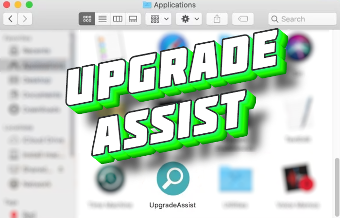 How to remove UpgradeAssist from Mac