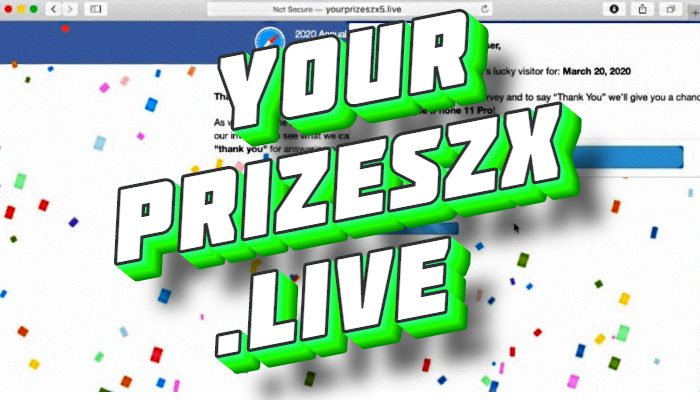 How to remove Yourprizeszx.live adware from Mac OS