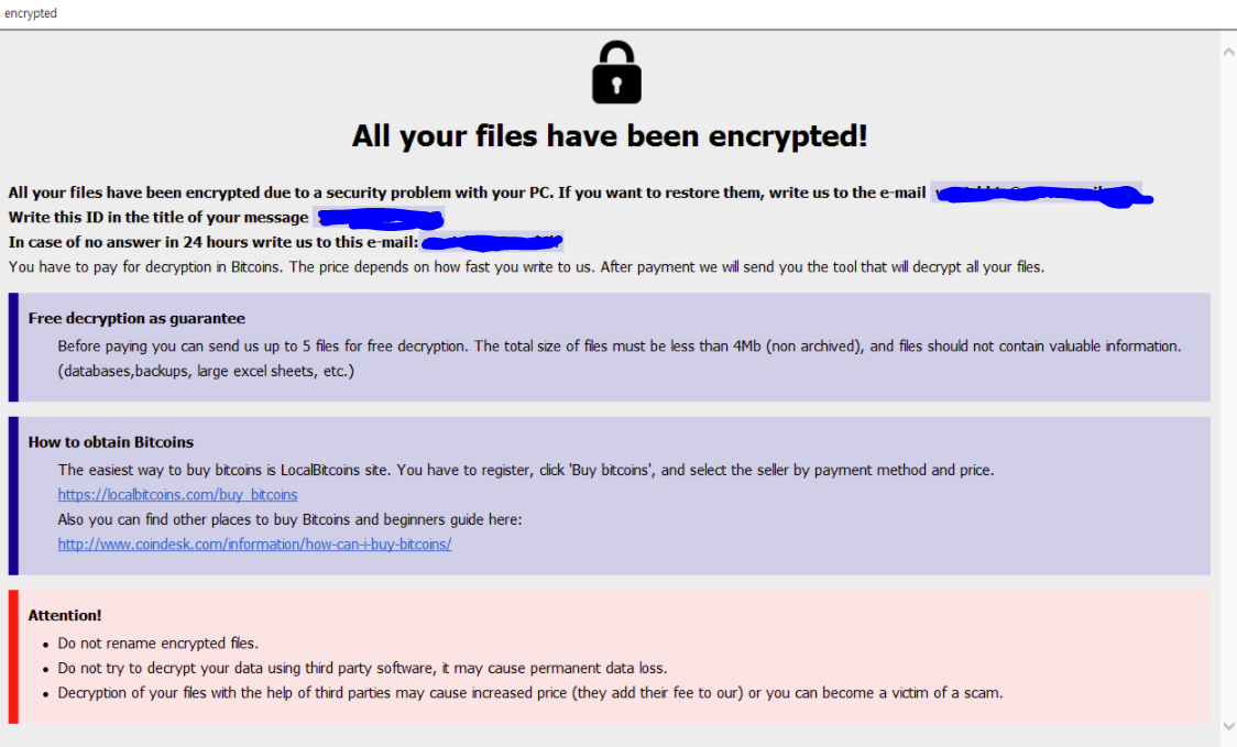 Horse ransomware